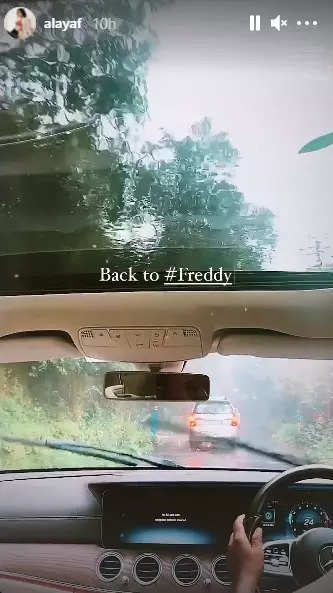 , Kartik, Alaya F return to sets of 'Freddy', The World Live Breaking News Coverage & Updates IN ENGLISH