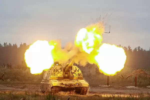 30 pictures from massive military drills in Russia