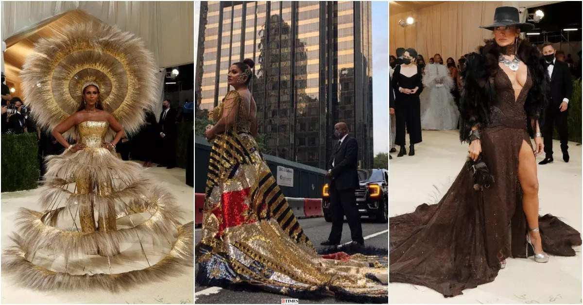 Met Gala 2021 best looks in photos: Iman, Sudha Reddy, Jennifer Lopez and other celebs make stylish appearances on the red carpet