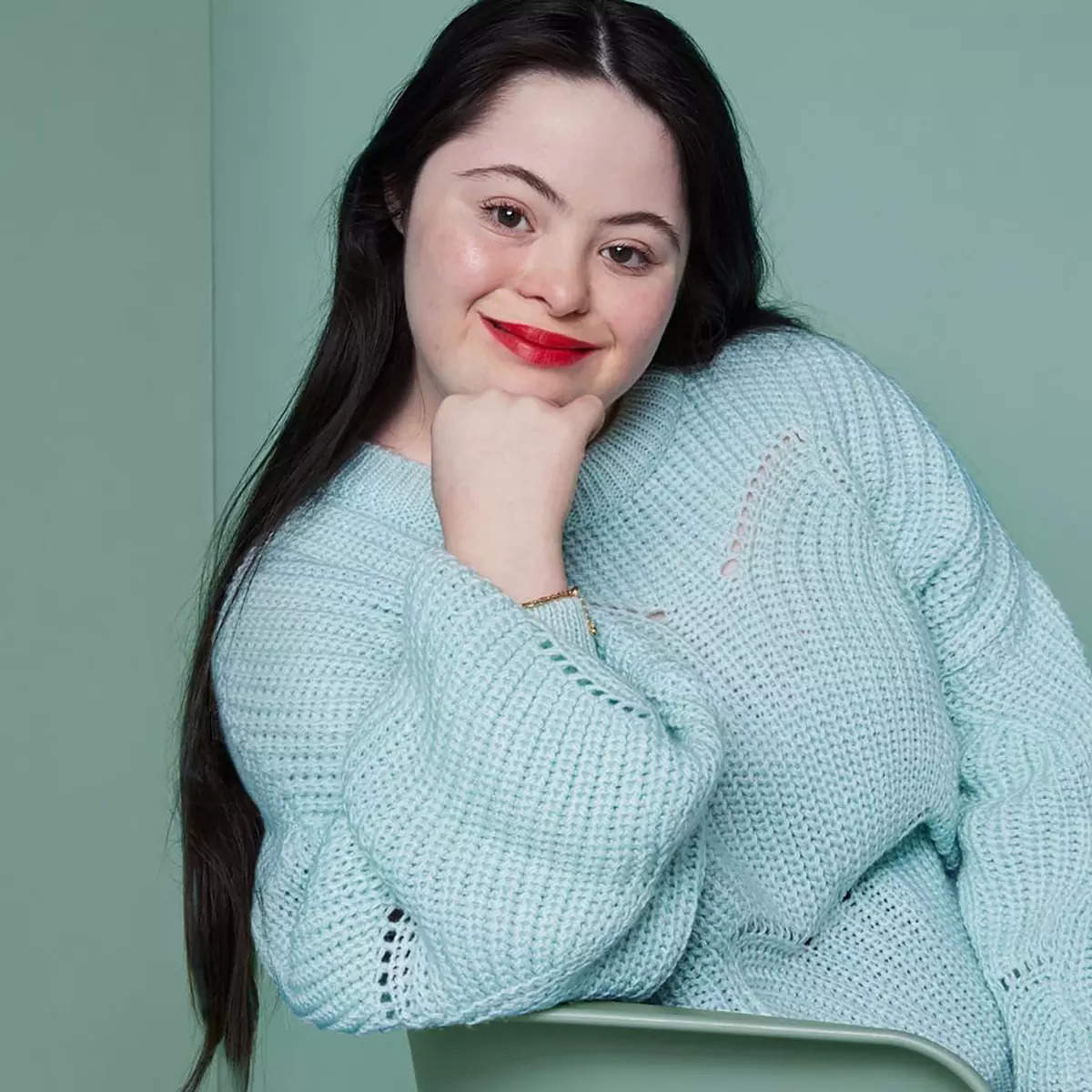 First Down's syndrome model Ellie Goldstein who campaigned for Gucci