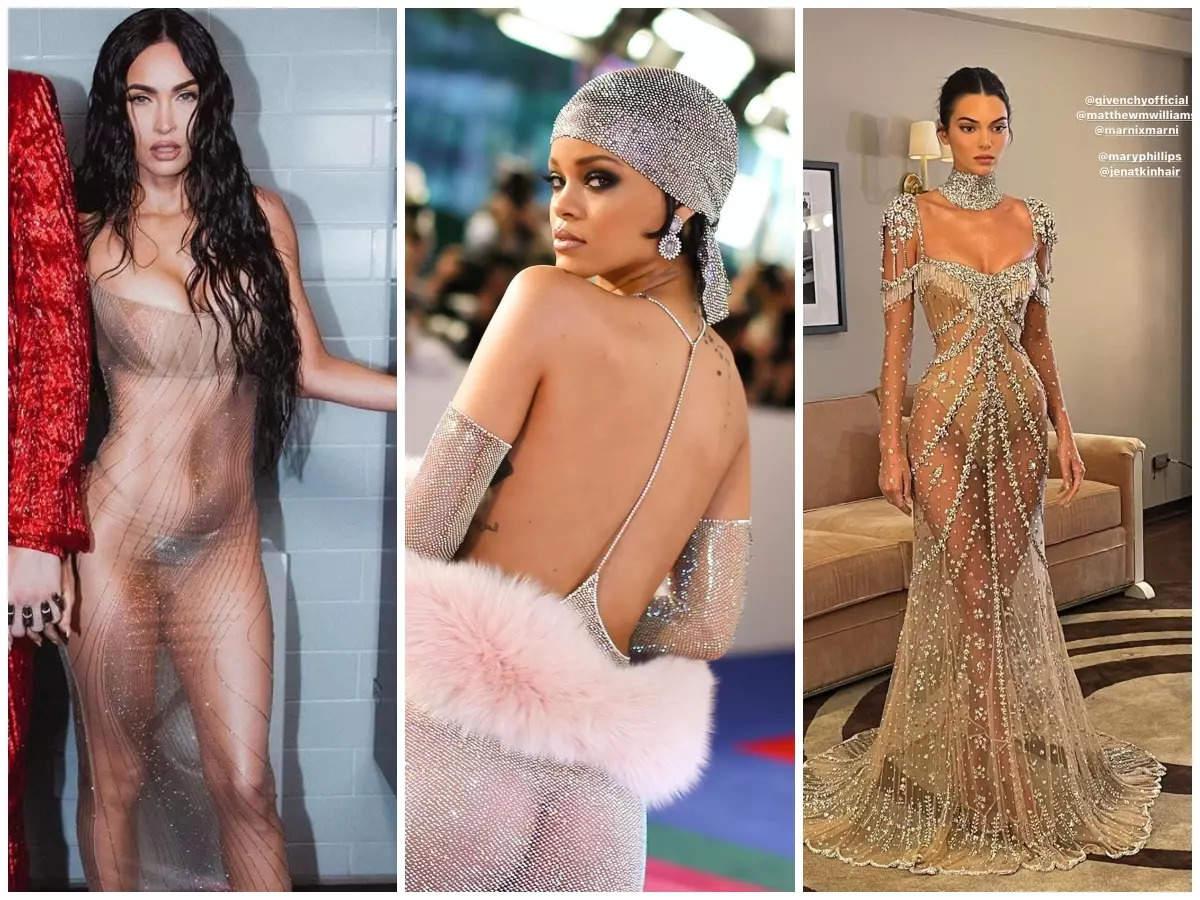 Hollywood stars who rocked sheer dresses