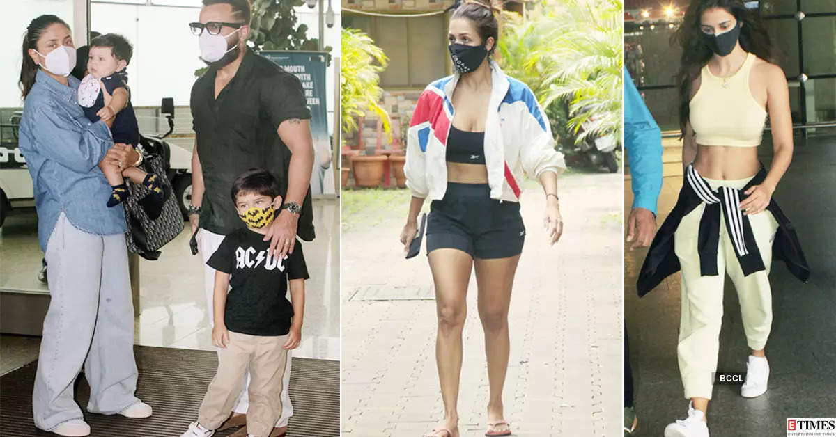 #ETimesSnapped: From Kareena Kapoor to Disha Patani, paparazzi pictures of your favourite celebs
