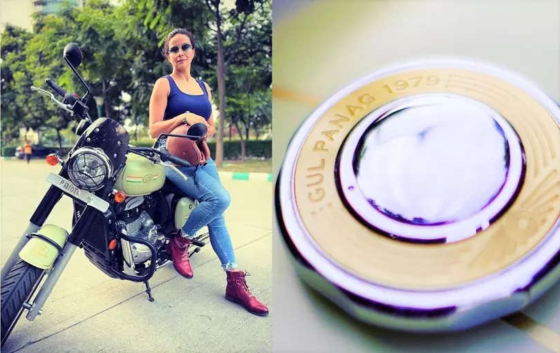 Gul Panag shares pictures of her new edition 'Jawa 42 motorcycle'