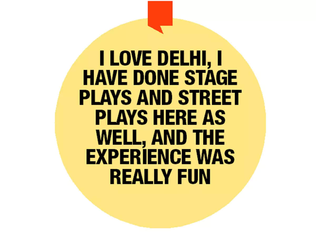 The actress talks about her association with Delhi