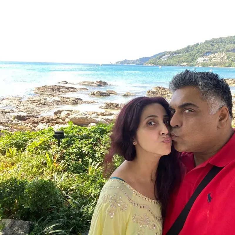 Gautami shares throwback honeymoon picture with Ram Kapoor, netizens surprised by Ram's physique