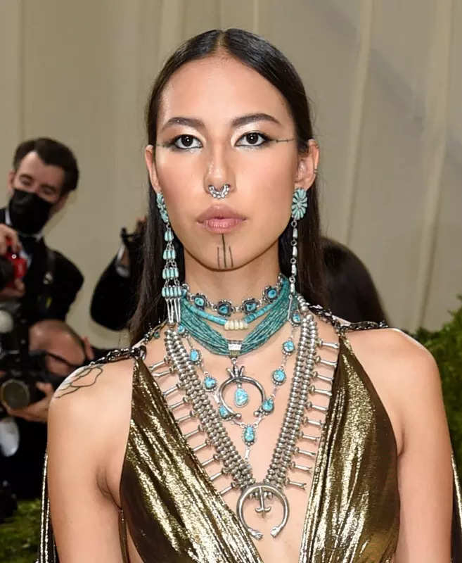Quannah Chasinghorse brings indigenous excellence to the fashion world, see stunning photos of the model redefining beauty