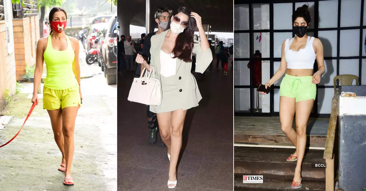 #ETimesSnapped: From Malaika Arora to Janhvi Kapoor, paparazzi pictures of your favourite celebs