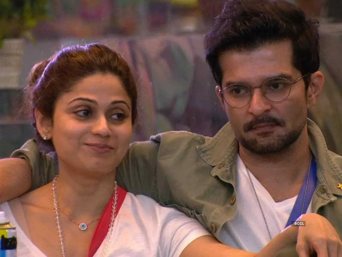 Her connection with Raqesh Bapat
