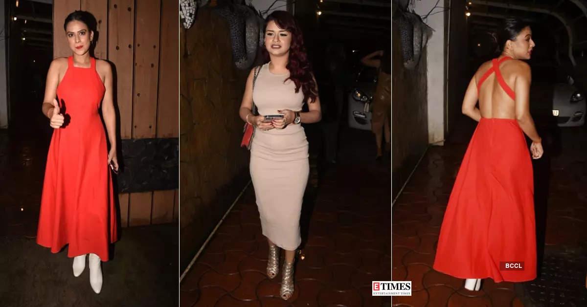 Nia Sharma and Avneet Kaur turn heads in cutout dresses at success party of Neha Kakkar & Honey Singh's track 'Kanta Laga'