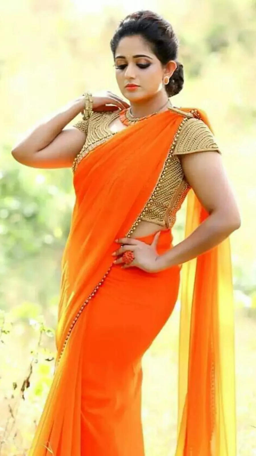 Awesome in orange