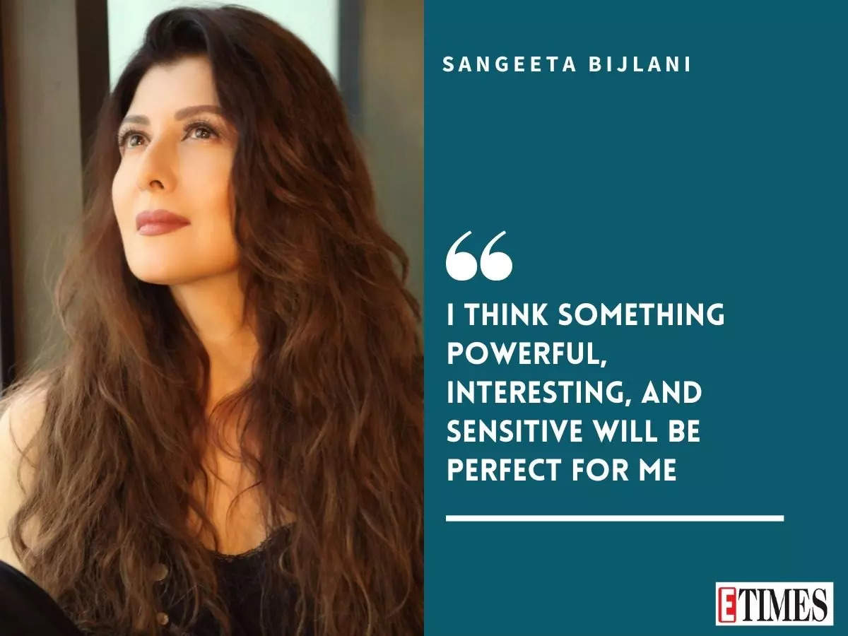 #BigInterview! Sangeeta Bijlani: Quitting acting made me happy