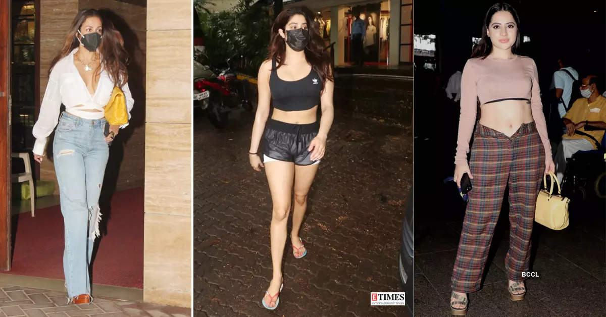 #ETimesSnapped: From Malaika Arora to Urfi Javed, paparazzi pictures of your favourite celebs