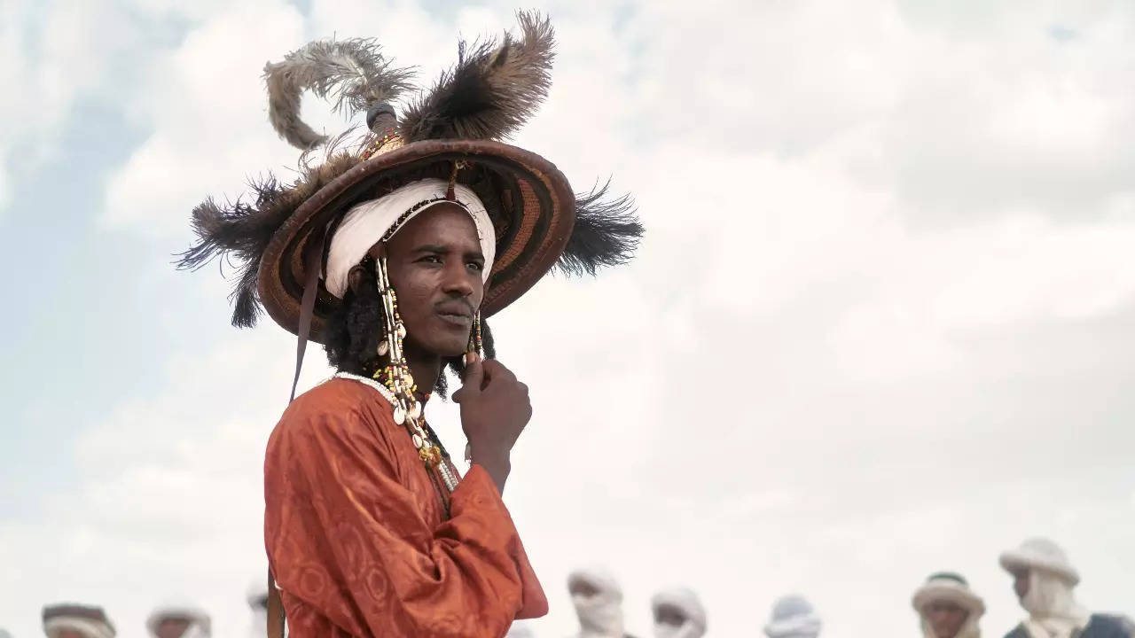 Nomadic herders gather to celebrate Cure Salee festival in Niger