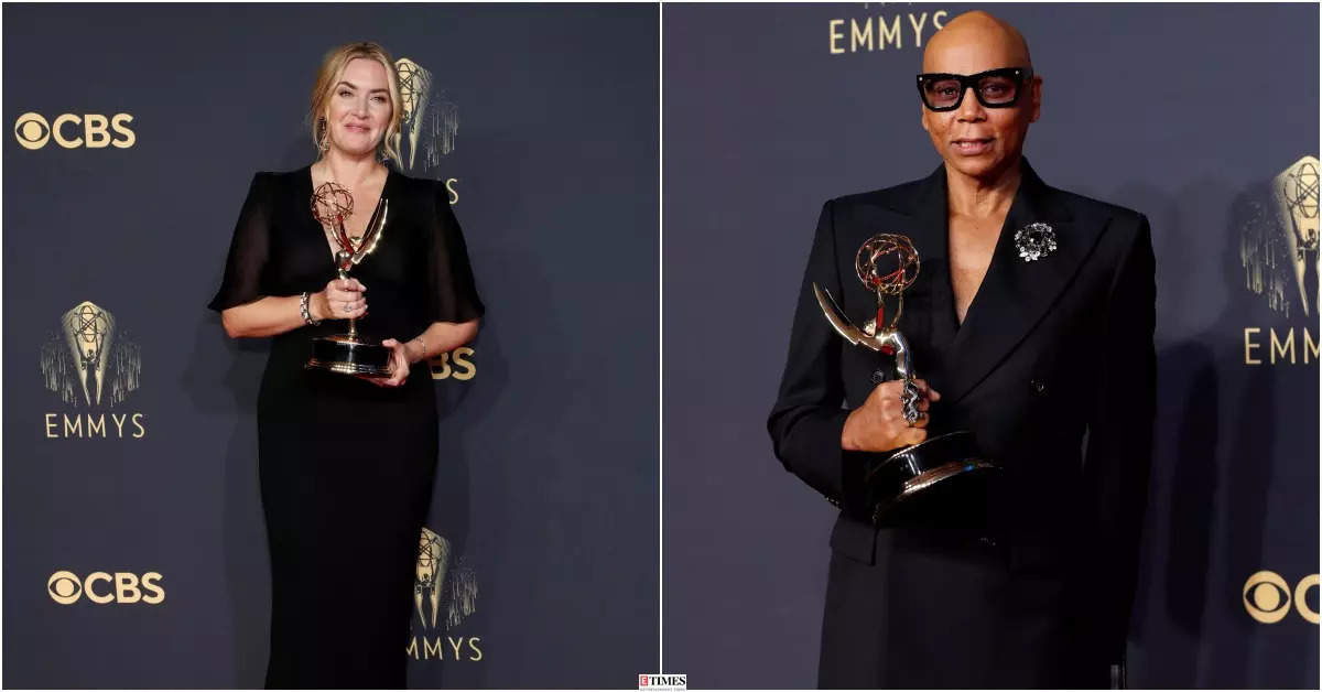 Emmys 2021 winners: Kate Winslet, RuPaul Charles and more, see who took the prestigious award home!