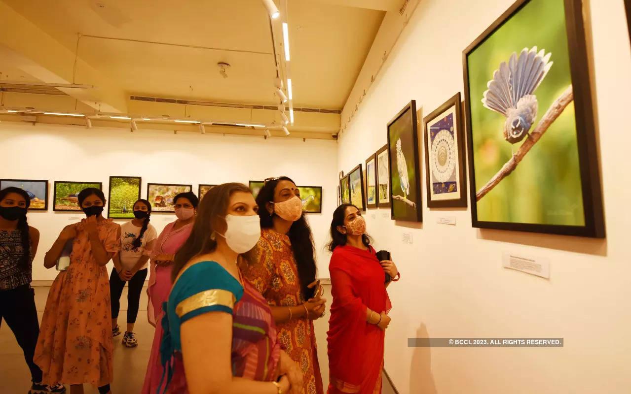 Shashi Dushyant organises a wildlife photography exhibition