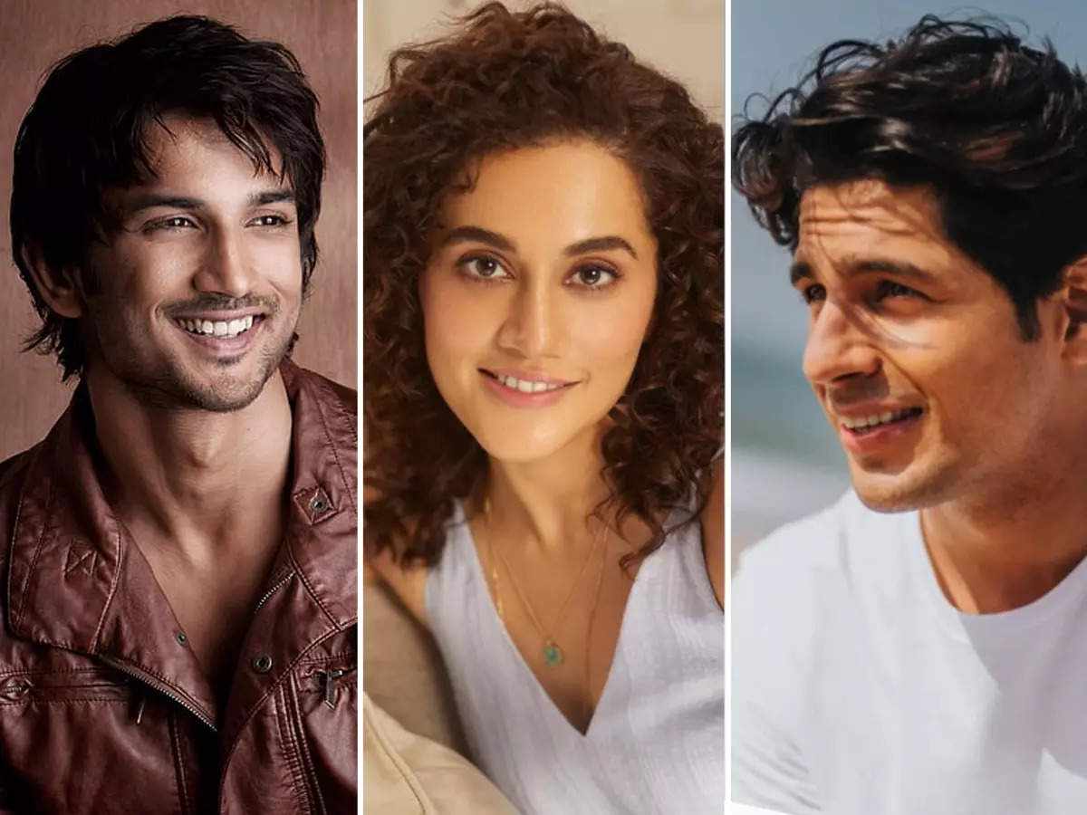 Taapsee Pannu, Sushant Singh Rajput, Sidharth Malhotra: When Bollywood celebs accepted fans' marriage proposals