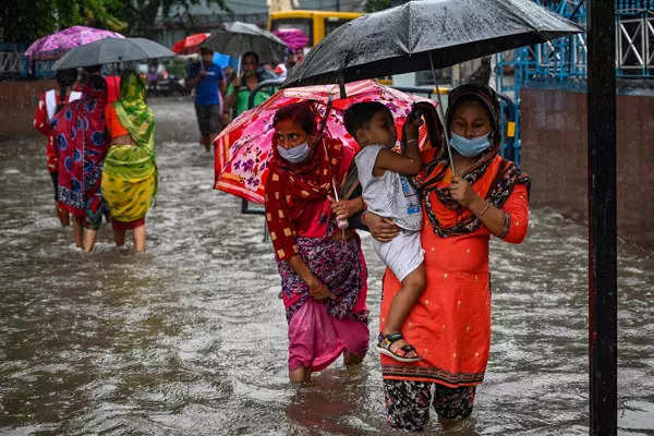 Kolkata rains: 20 pictures from inundated city