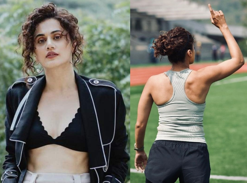 Taapsee Pannu reacts to a troll who says she has 'mard ki body'