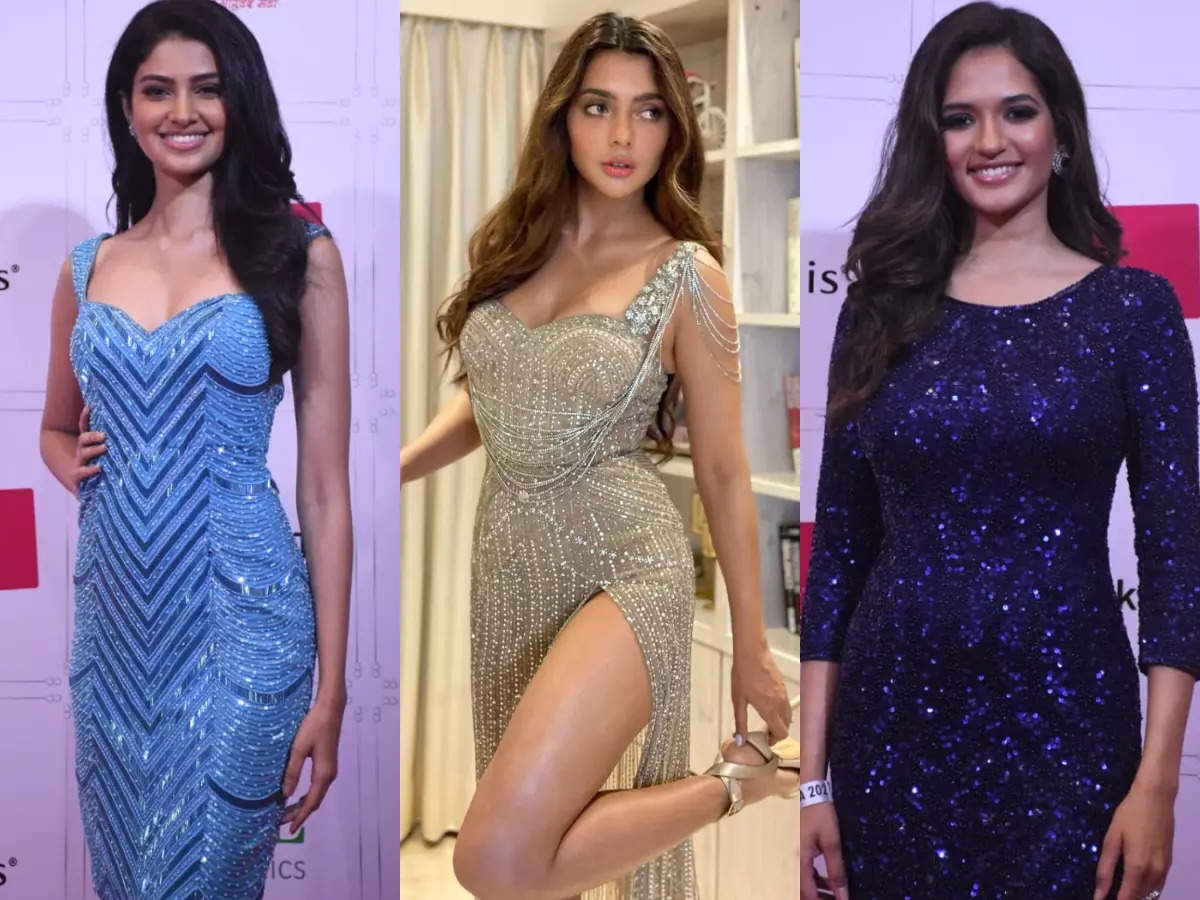 A blingy affair at LIVA Miss Diva 2021 red carpet  | The Times of India