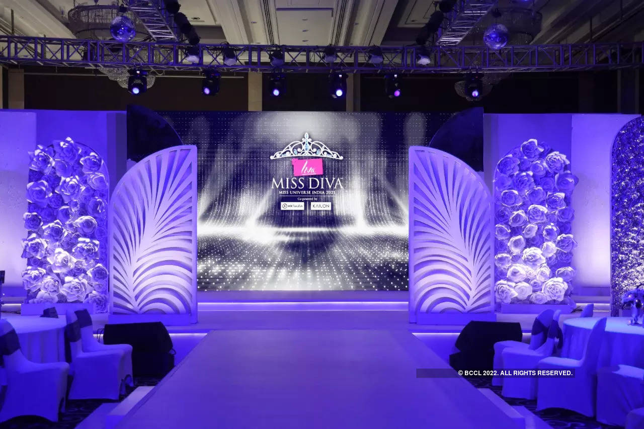Take a peek at the BTS from LIVA Miss Diva 2021 Red carpet event!