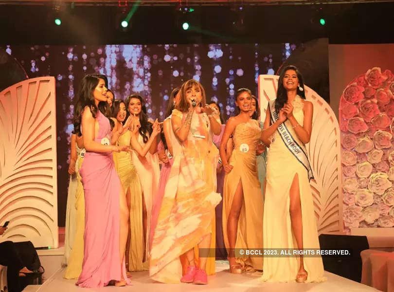 Manasi Scott's stellar performance at Red Carpet event of LIVA Miss Diva 2021
