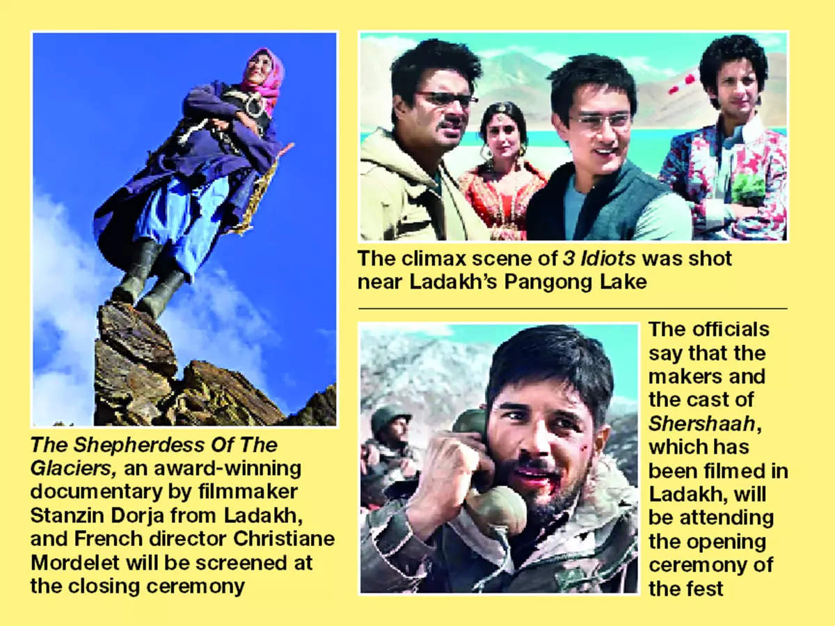 The first edition of The Himalayan Film Festival will kick off today and go on till September 28 in Leh