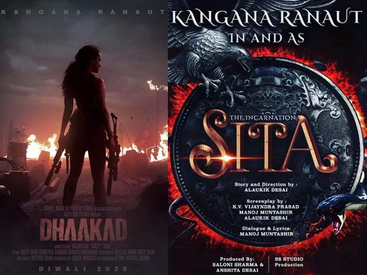 Kangana Ranaut's stellar lineup of films