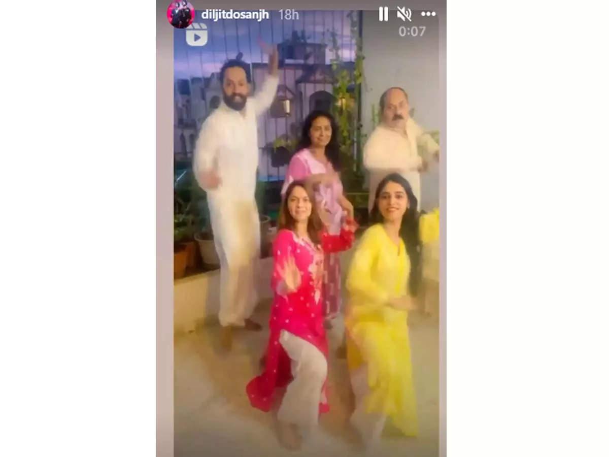 Sonalee's 'Vibe' video leaves Diljit impressed
