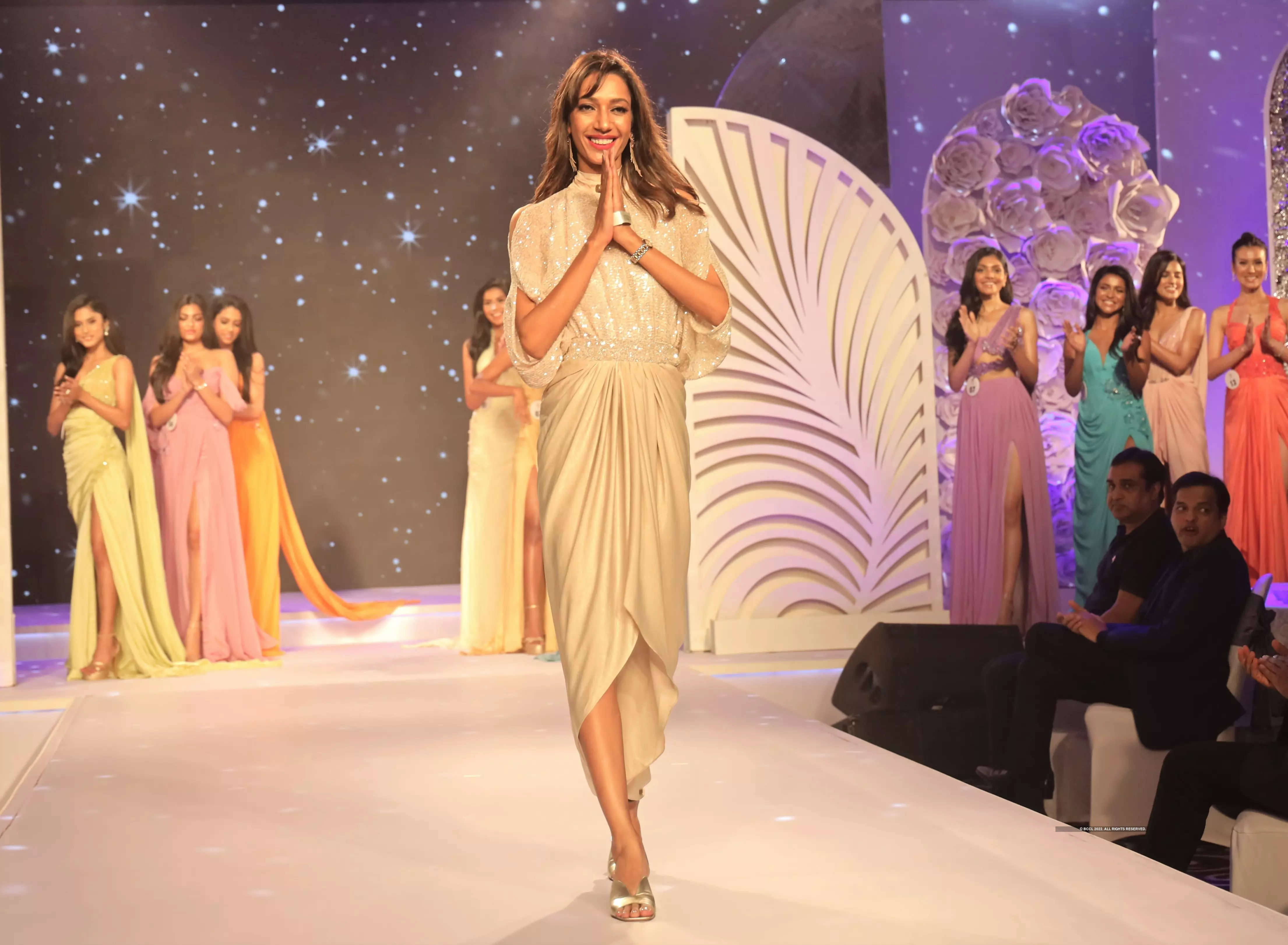 Bhawna Rao designs for finalists at LIVA Miss Diva 2021 red carpet!