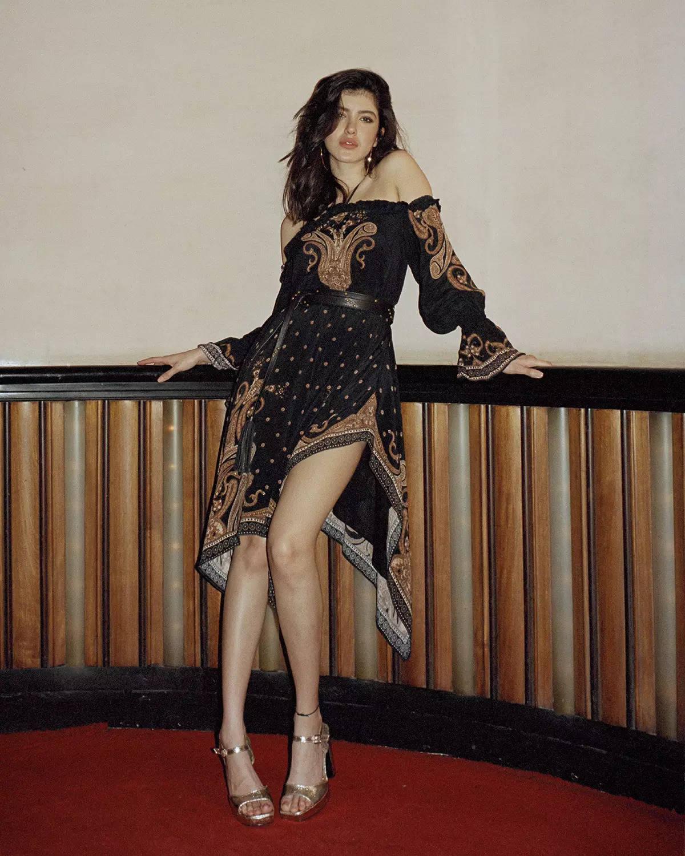 LABEL Ritu Kumar_Shanaya Kapoor in Paisley Printed Dress