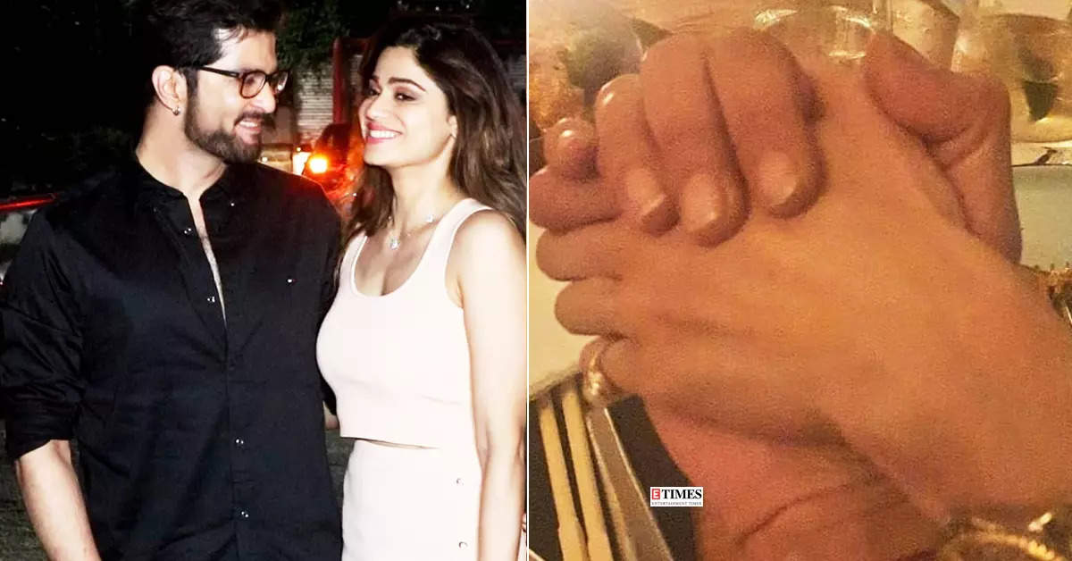 Lovebirds Shamita Shetty and Raqesh Bapat are painting the town red with their mushy pictures from their dinner date