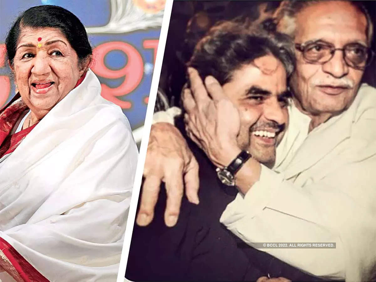 This unreleased number, called Theek Nahi Lagta, was sung by Lata Mangeshkar in the 1990s, penned by Gulzar, and composed by Vishal.