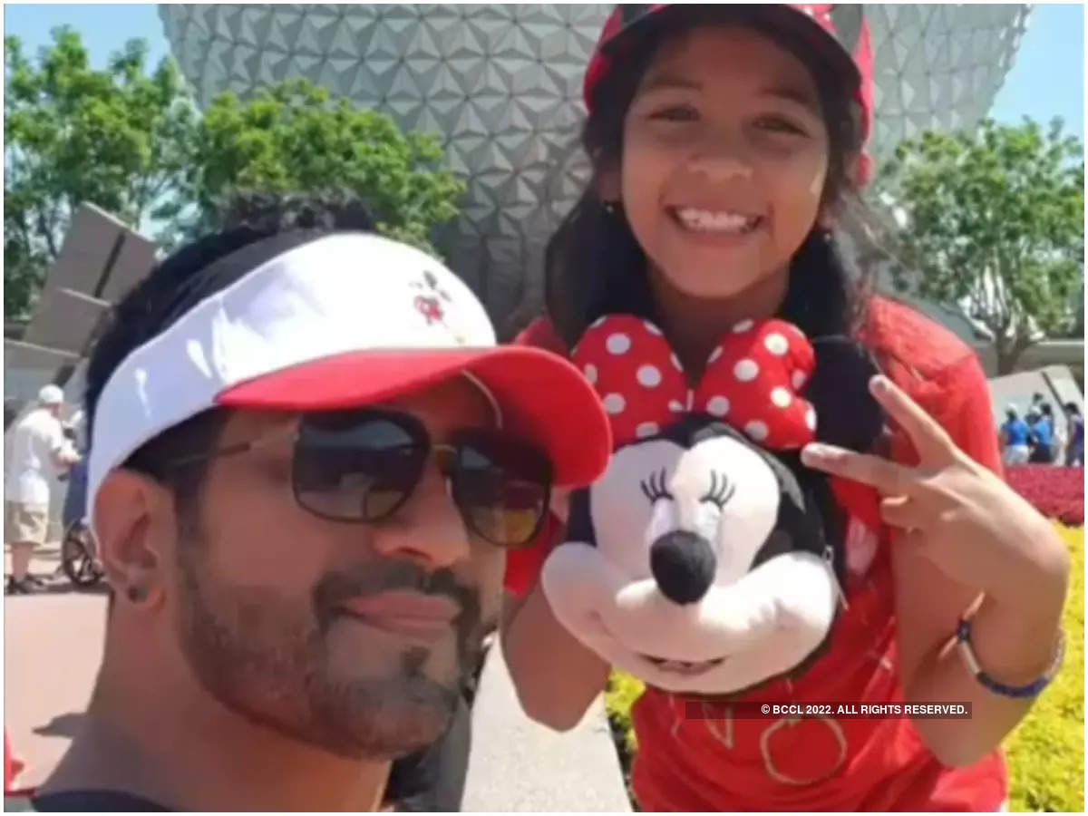 Amit with his daughter Jiyana
