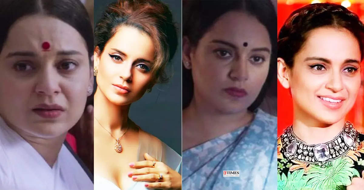 Kangana Ranaut shares before and after pictures; actress undergoes major physical transformation
