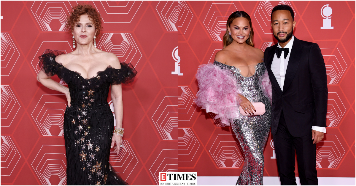 Tony Awards 2021 red carpet: Celebrities dazzle in fashionable outfits, check out Broadway's best-dressed stars in photos
