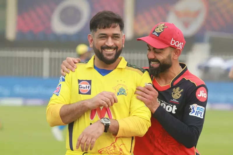 IPL 2021: Virat Kohli-MS Dhoni's bromance breaks the internet! Fans in awe of their viral pictures