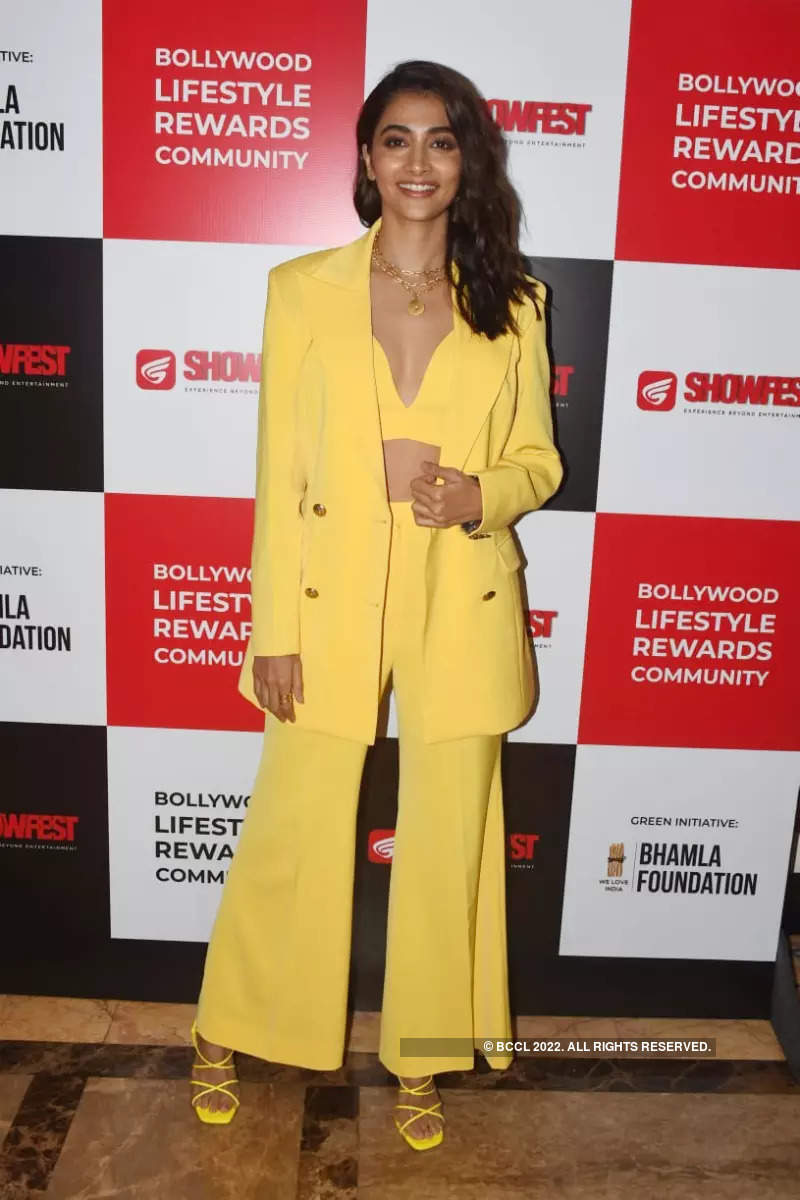 Pooja Hegde, Govinda and other stars attend the launch of 'ShowFest'