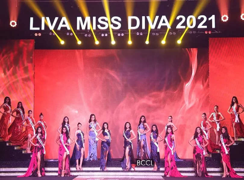 LIVA Miss Diva 2021 finalists slay at the Grand Finale in Abhishek Sharma's collection