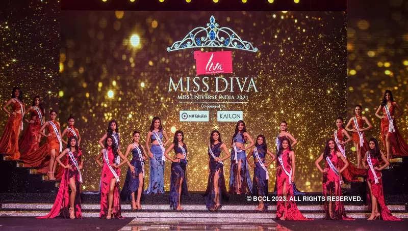 LIVA Miss Diva 2021: Abhishek Sharma's collection showcase