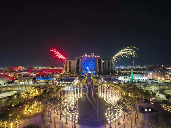Dubai Expo 2020: Best images from the star-studded opening ceremony