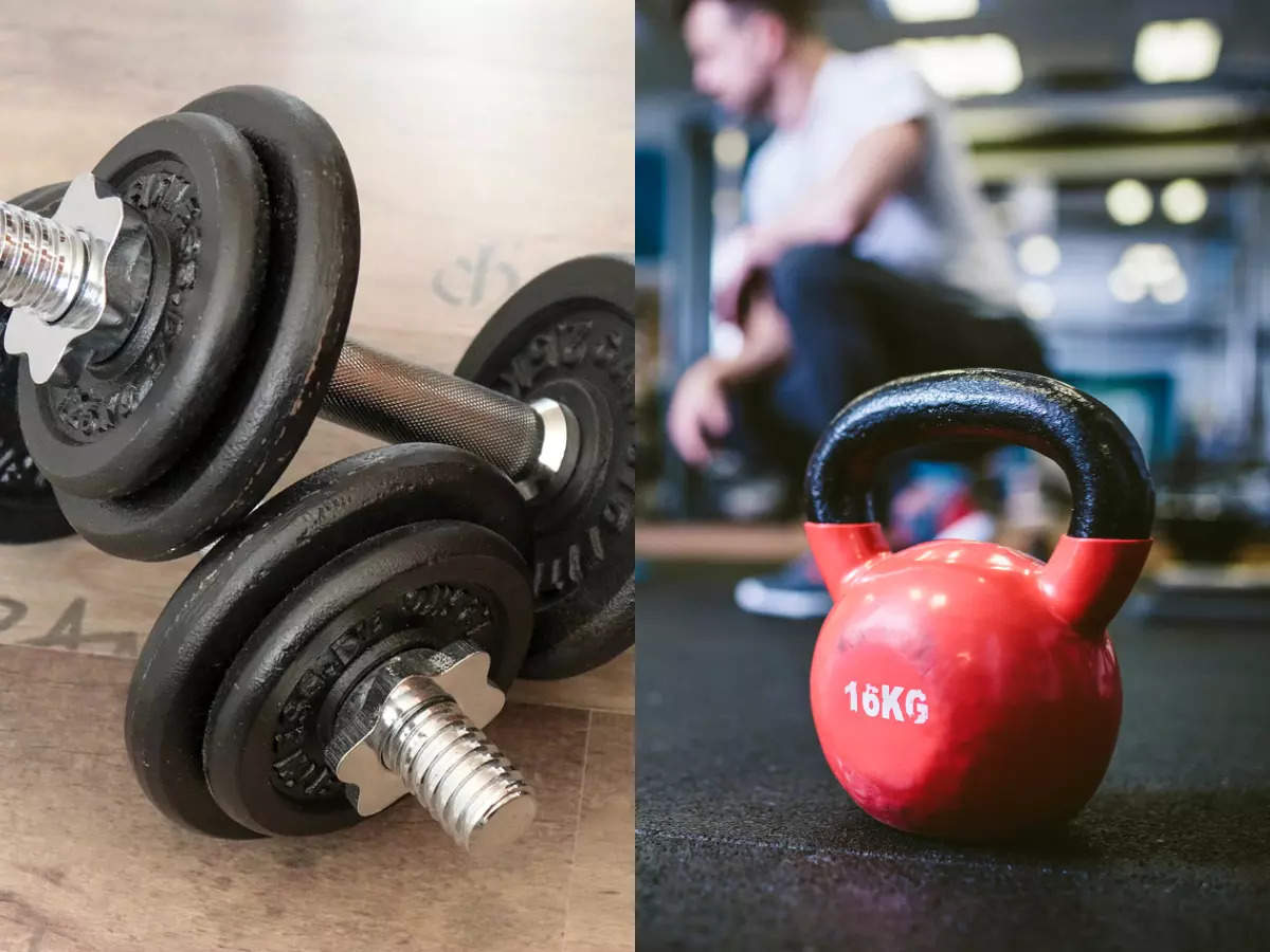 Dumbbells Vs Kettlebells: Which's better to build muscle?