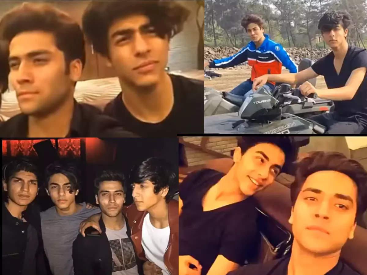 ड्रग्स छापेमारी में आर्यन खान और अरबाज खान मर्चेंट की कथित संलिप्तता के  बाद, उनकी दोस्ती के वीडियो ऑनलाइन सामने आए   हिंदी फिल्म समाचार ...