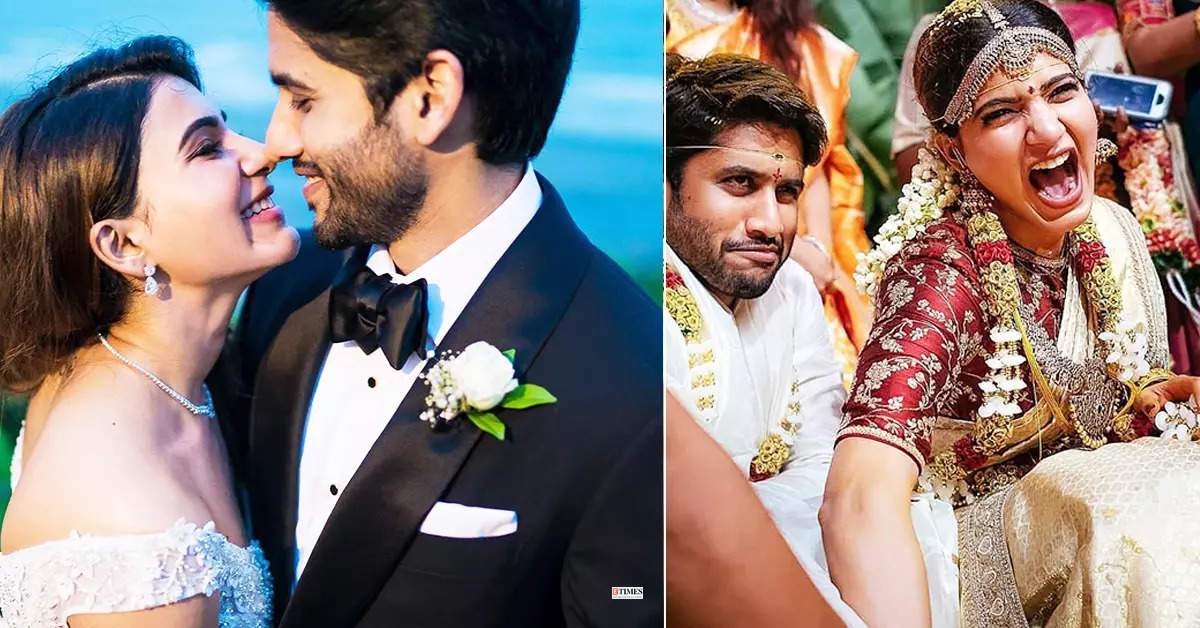 Beautiful wedding pictures of Samantha and Naga Chaitanya go viral after they announce separation
