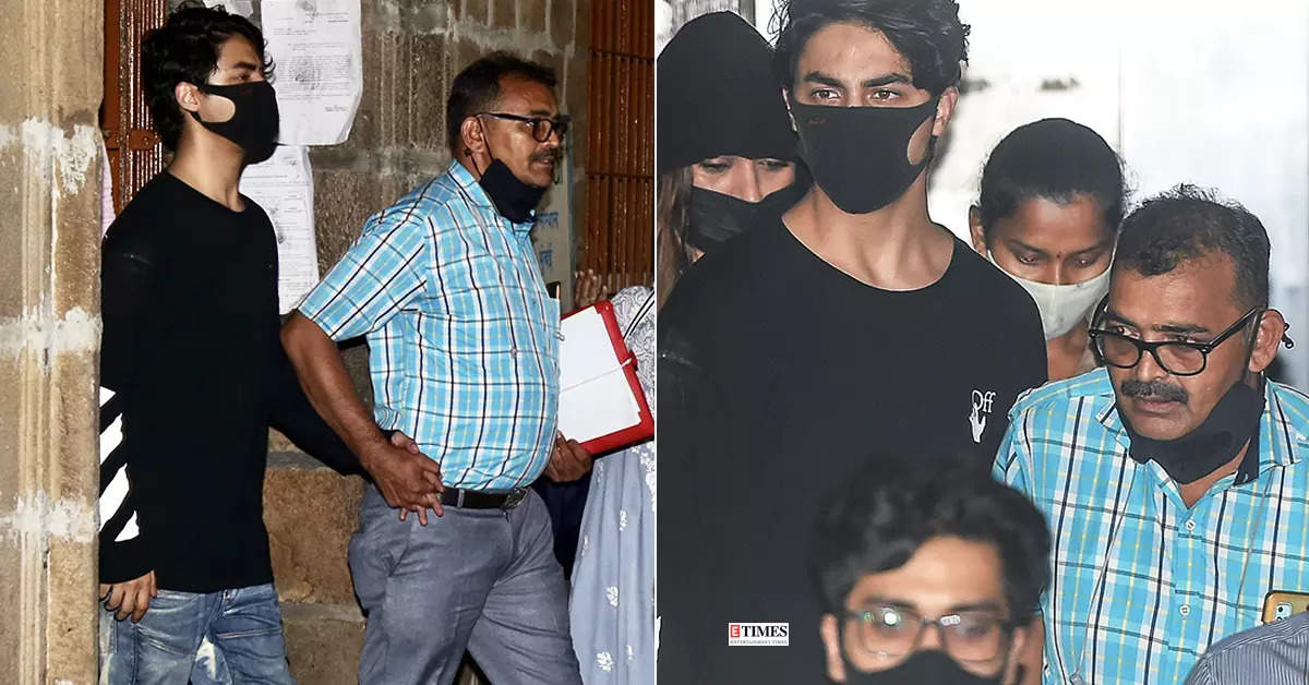 Pictures of Aryan Khan go viral after he gets arrested in cruise drug raid