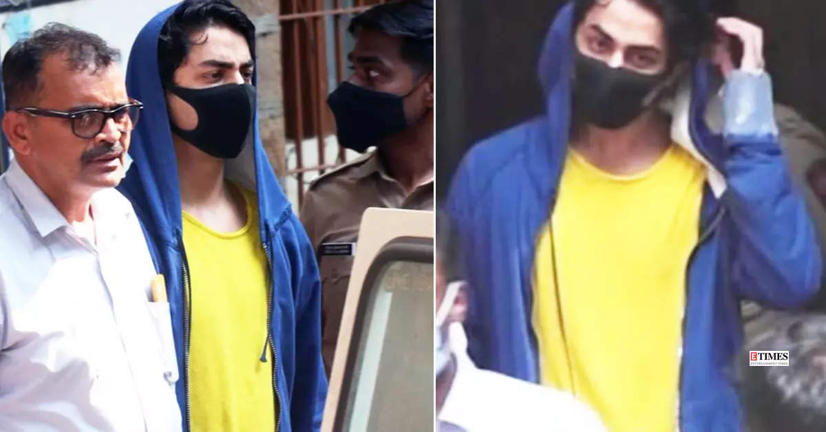 New pictures of Aryan Khan from the court; sent to NCB custody till Oct 7