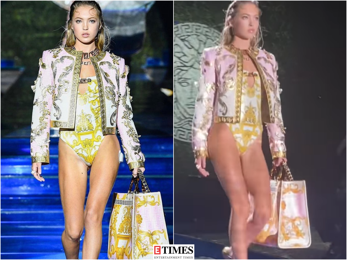 Kate Moss' daughter Lila walks the ramp at Milan Fashion Week wearing her insulin pump, see pictures of the model