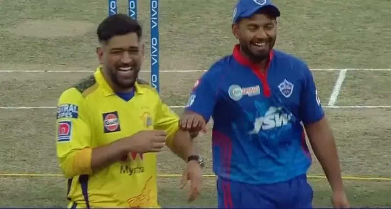 IPL 2021: MS Dhoni-Rishabh Pant's camaraderie pictures are a hit on social media, fans heart their bond