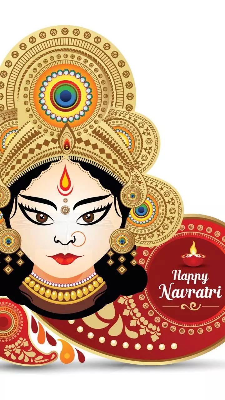 Sembilan warna yang terkait dengan Navratri