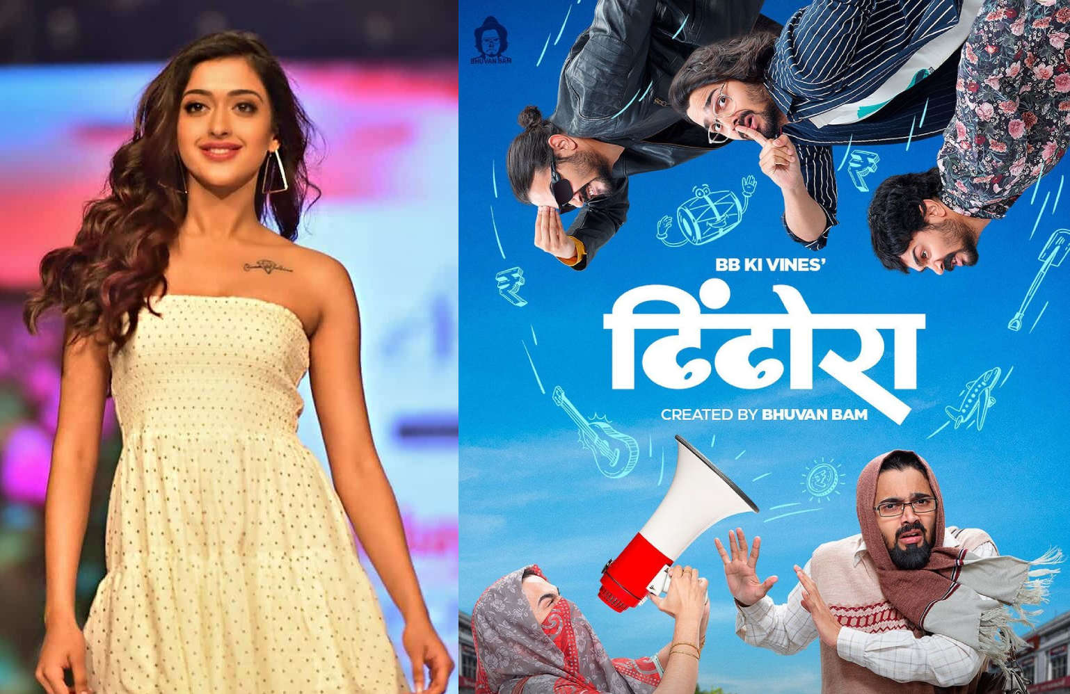 Trailer's out! Former Miss India Gayatri Bhardwaj to make her debut with 'Dhindora'