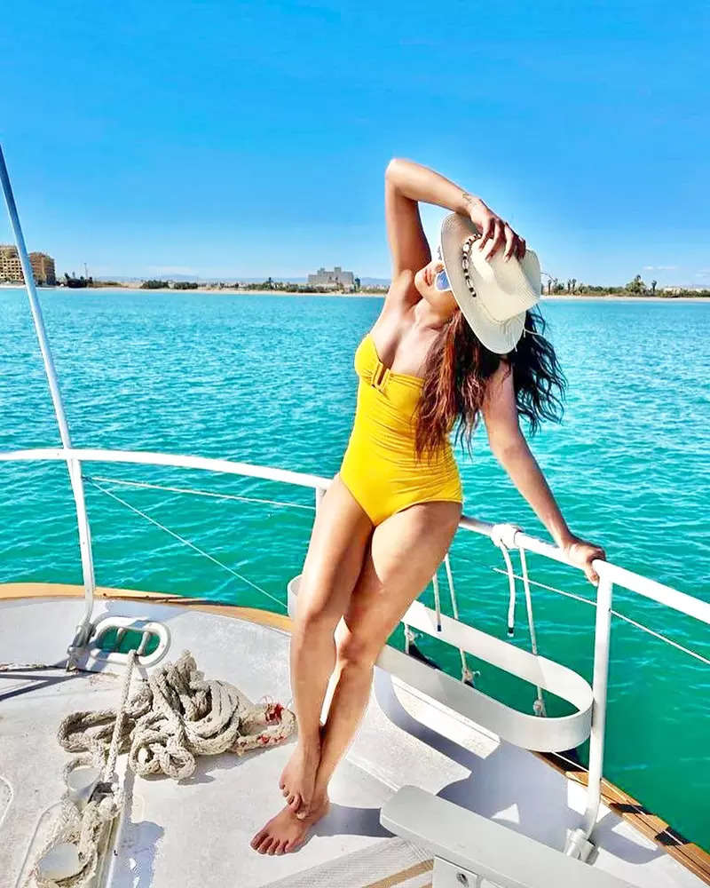 These stylish pictures of Priyanka Chopra in swimsuits will make you go wow!